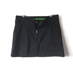 HUGO BOSS Skirt Black Golf Tennis Skort size 10